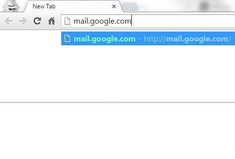откройте свой аккаунт Gmail