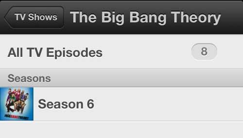 Выберите сезон, содержащий эпизод