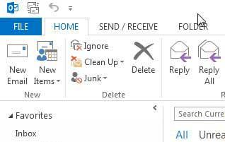 Нажмите вкладку Файл