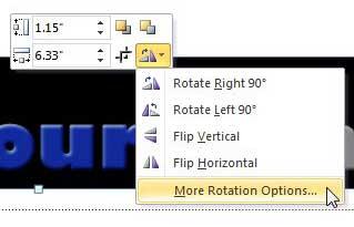 как повернуть изображение в powerpoint 2010