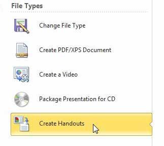 как сохранить файл powerpoint как слово doc