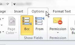 открыть вкладку параметров