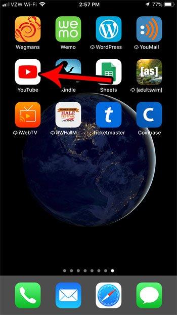 установить перерыв напоминание YouTube Iphone