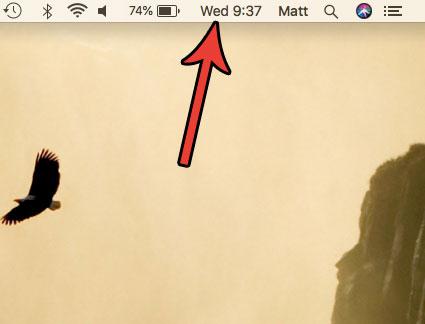 день недели в строке состояния mac