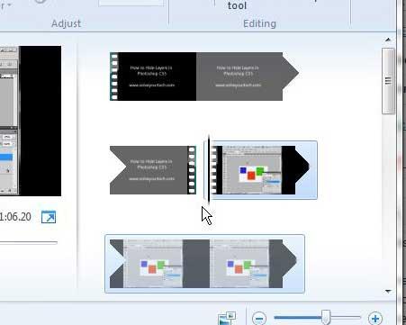 пример двух клипов