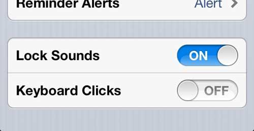 как отключить щелчки клавиатуры на iphone 5