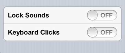 как отключить блокировку и разблокировку звуков iphone 5
