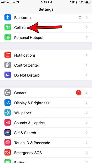 блокировать использование сотовых данных Netflix iphone