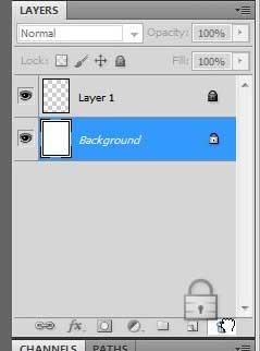 как разблокировать слой в фотошопе cs5