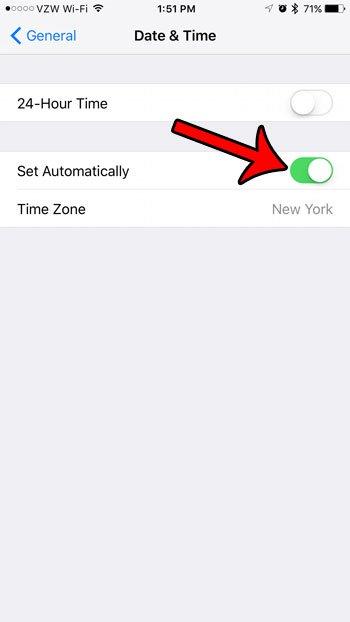 почему ваш iPhone не показывает правильное время