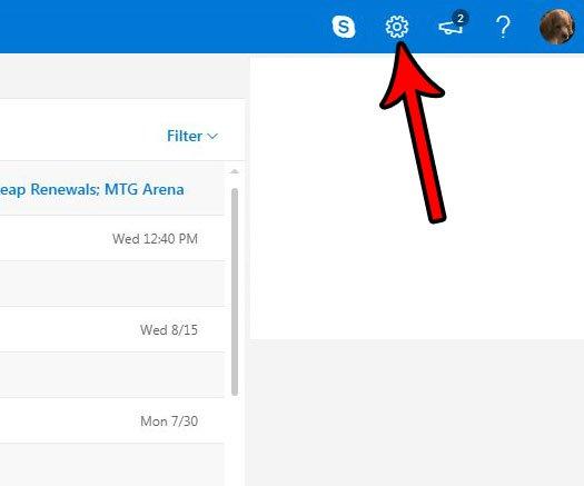 как отобразить все электронные письма в папке входящих сообщений на outlook.com