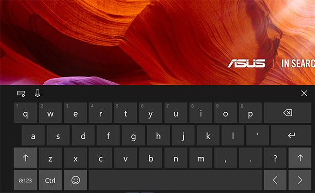 клавиатура с сенсорным экраном Windows 10