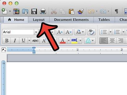 Как установить 1-дюймовые поля в Word 2011