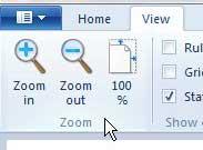 Как увеличить на Microsoft Paint